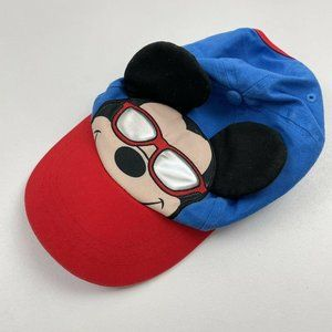 Disney Kids Mickey Mouse Baseball Cap with Face